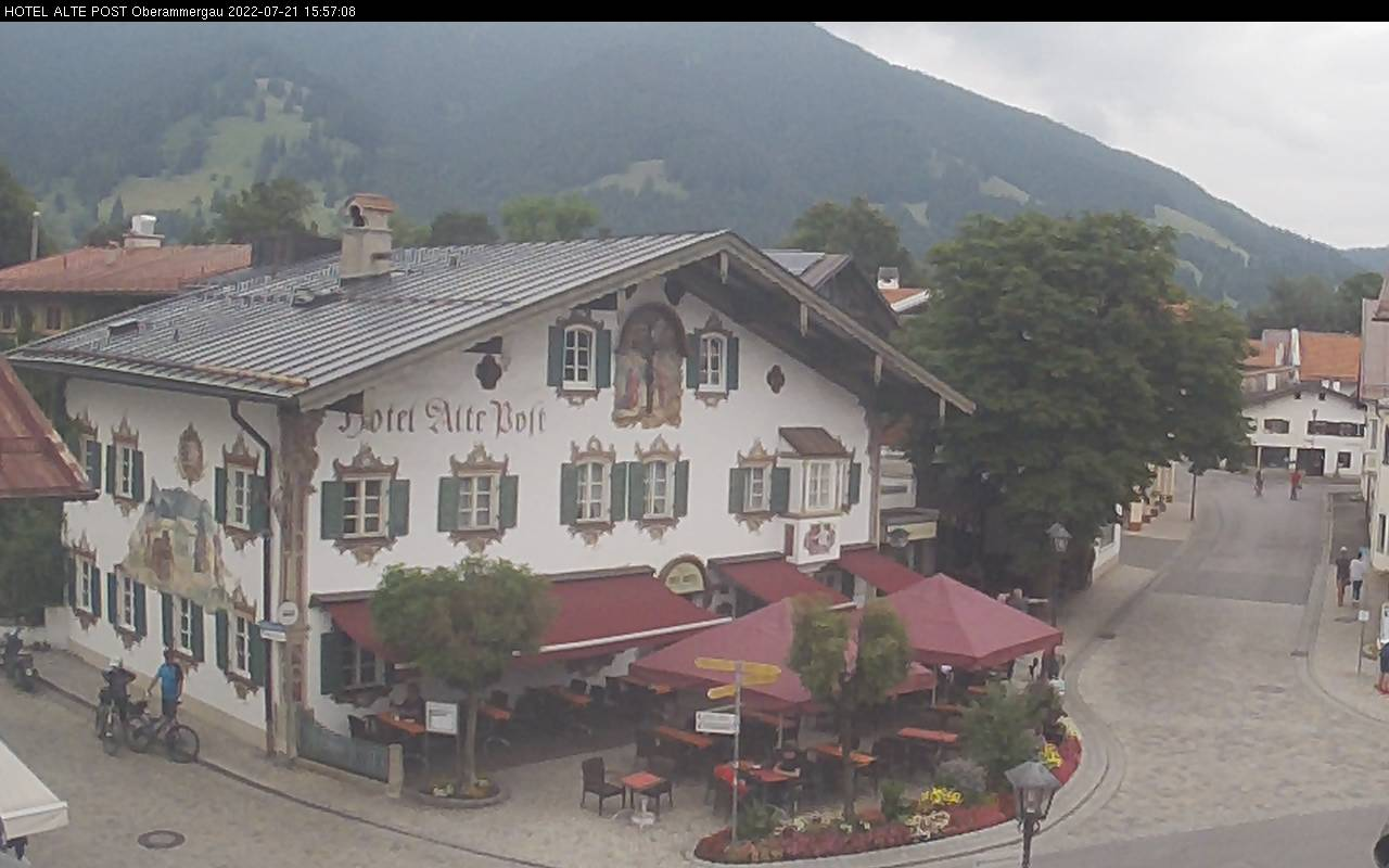 Webcam Ski Resort Oberammergau - Laber Hotel Alte Post - Bavaria Alps - Upper Bavaria